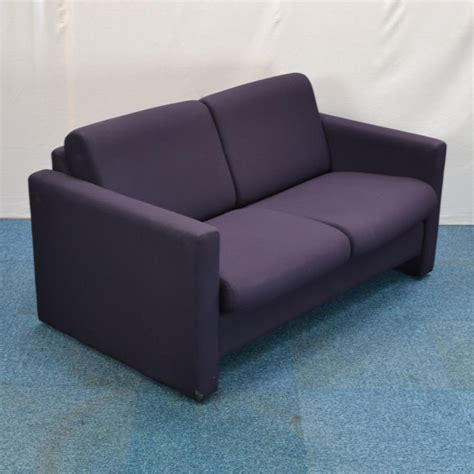 2 seater purple sofa purple 2 seater reception sofa