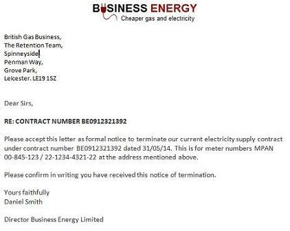 cancelling utilities letter printable sle letter of termination form laywers