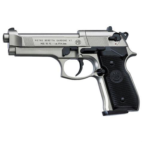 Pistol L by Beretta 174 M92fs Air Pistol Nickel 148564 Air Bb