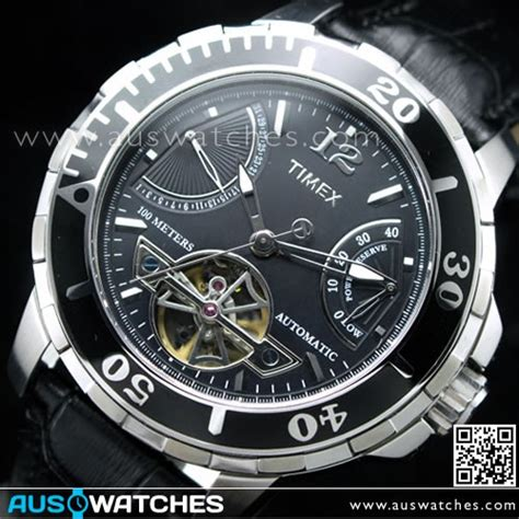 buy timex luxury 38 automatic power reserve