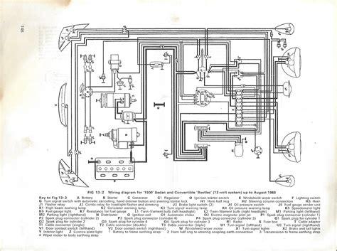 comfortable 1965 vw wiring diagram contemporary