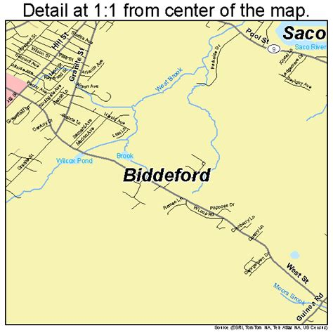 map of biddeford maine biddeford me pictures posters news and on your