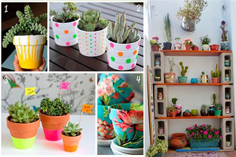 como decorar plantas con macetas ideas para decorar tu hogar en primavera nosotras