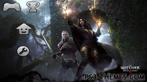 ps4 themes witcher 3 ps3 themes 187 the witcher 3 wild hunt slideshow