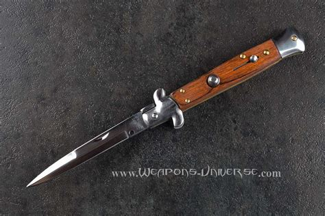 stiletto automatic knives wood stiletto switchblade automatic knife