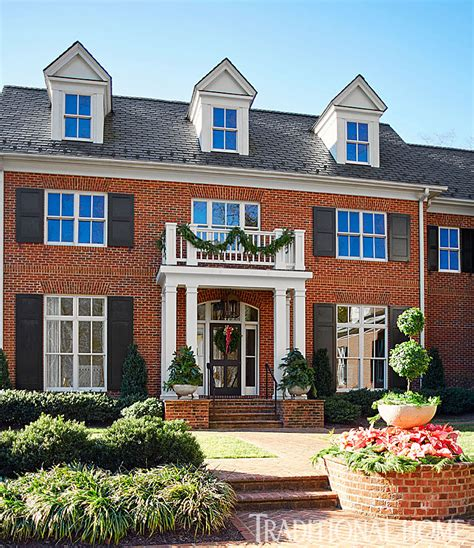 traditional home styles virginia home with a pretty holiday palette traditional home