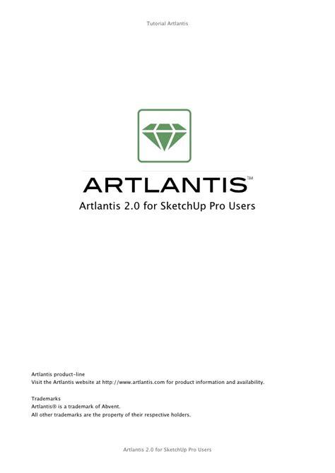 tutorial sketchup artlantis tutorial sketchup atl