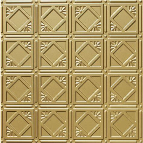 brass ceiling tiles global specialty products dimensions 2 ft x 2 ft brass