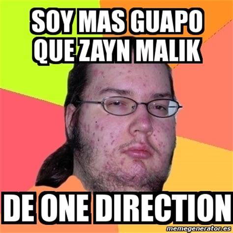 imagenes de memes de zayn meme friki soy mas guapo que zayn malik de one direction