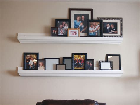 picture ledge ana white ten dollar ledges fancied up diy projects