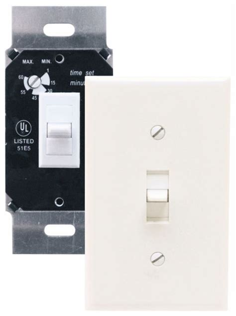panasonic fan delay timer switch air king akdt60w white exhaust fan switch with