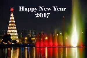 happy new year 2017 city
