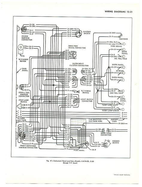 1966 chevy panel truck wiring diagram autos post