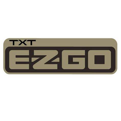 E-Z-GO TXT Side Body Decal - Parts - Golf Car UK .txt