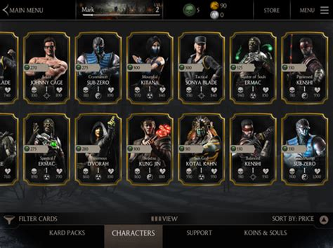 300 Soul Mortal Kombat X Mobile it would cost 300 to get every character in mortal kombat x mortal kombat x news