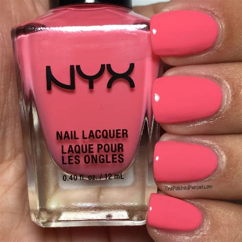 Nyx Nail nyx nail review swatches the polished pursuit