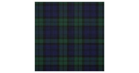 black watch tartan curtains classic black watch tartan plaid fabric zazzle