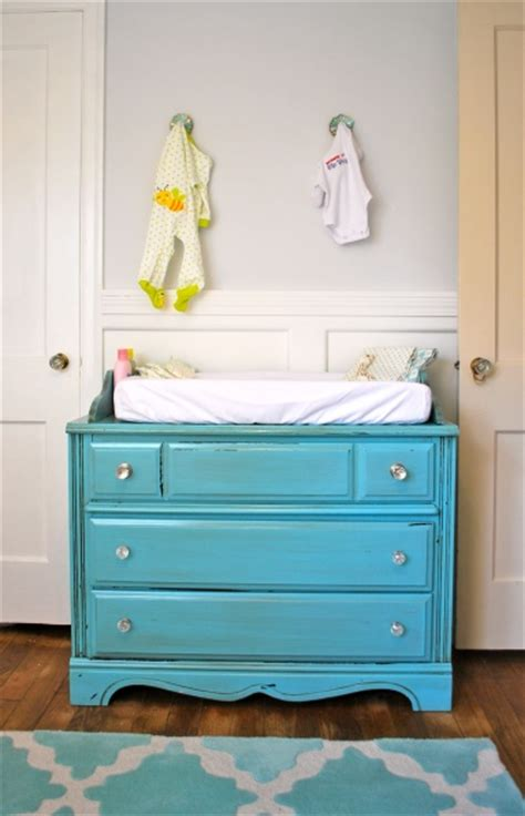 Budget Friendly Baby Nursery Ideas Diy Baby Changing Table