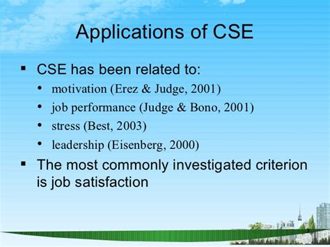 Mba Ppt On Satisfaction by Self Evaluations Ppt Bec Doms Mba Hr