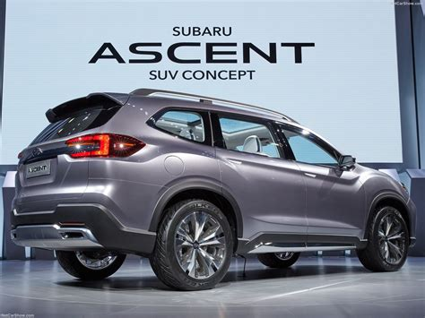 suv subaru 2017 subaru ascent suv concept 2017 picture 8 of 27