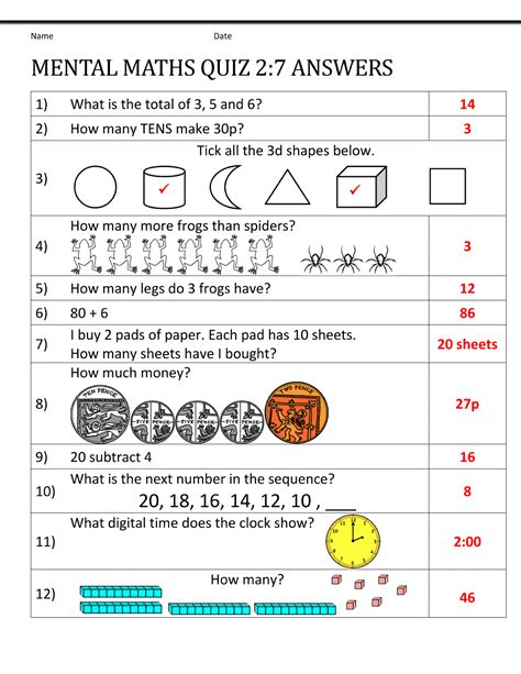 year 2 revision worksheets year 7 math worksheets printable shelter