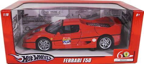 Wheels Racer F50 60th Anniversary f50 60th anniversary wheels 1 18 diecast car scale model