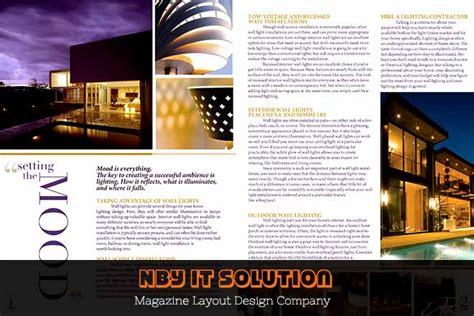 ad architectural design pics for gt magazine ad design layout
