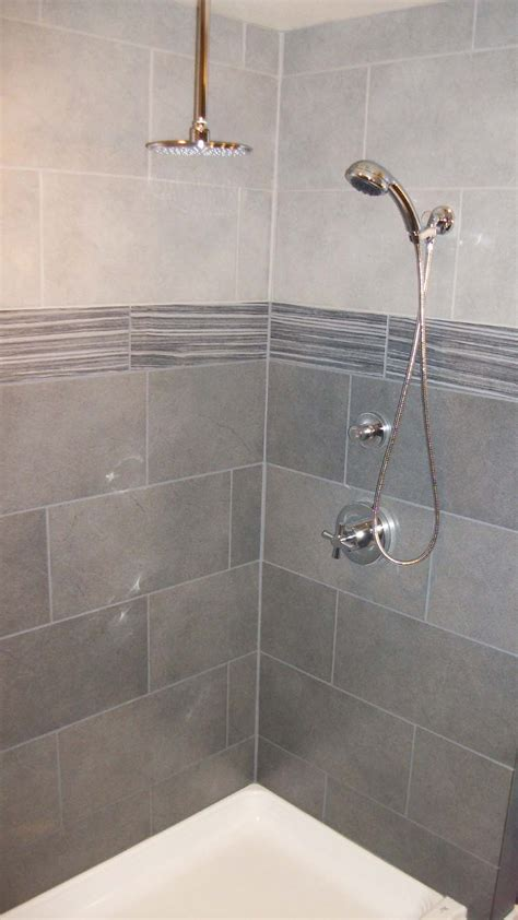 Tiling Bathroom Shower Wonderful Shower Tile And Beautiful Lavs Notes From The