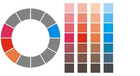 grey complimentary colors durnin gr 8 classroom wiki colour schemes