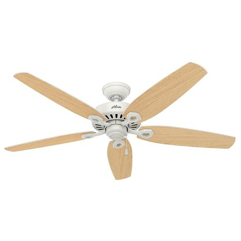 hunter  builder great room traditional ceiling fan