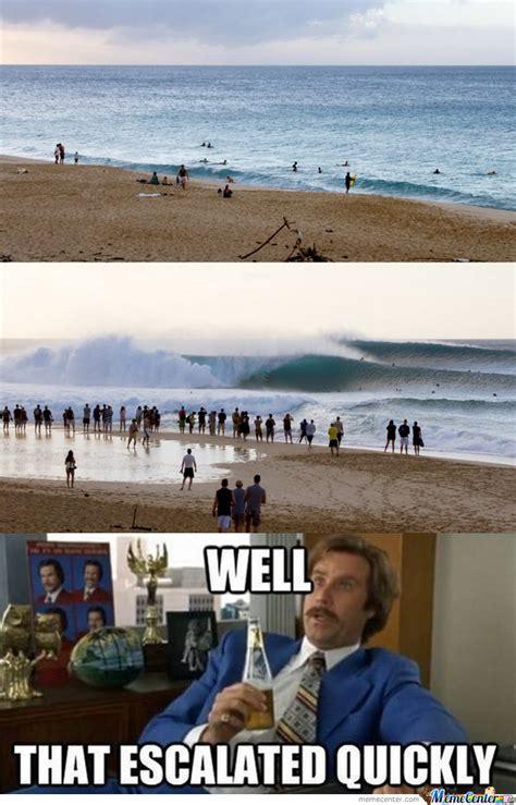 Funny Beach Memes - meanwhile at da beach by likeaboss meme center