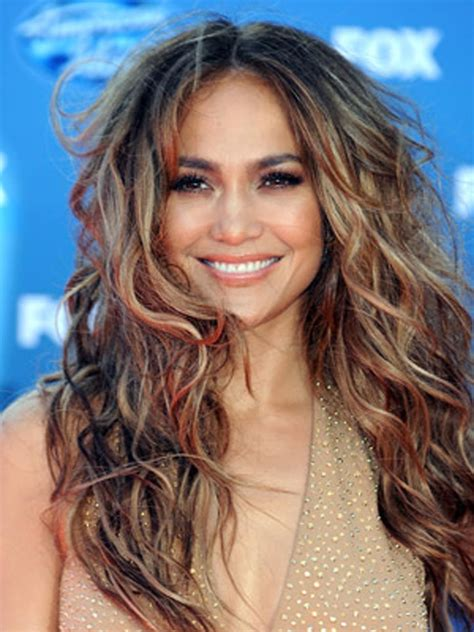 Jlo Takes It Easy by With Curly Styles Hair Ideas