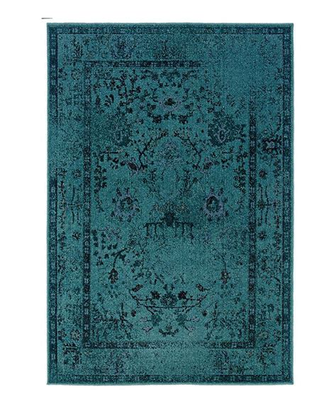 rug library catalogue look at this zulilyfind teal ornate renaissance rug by weavers zulilyfinds for the