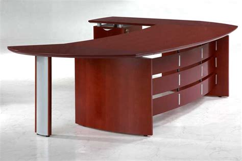 Oval Executive Desk by New Cherry Wood Executive Office Desk Oval Ebay