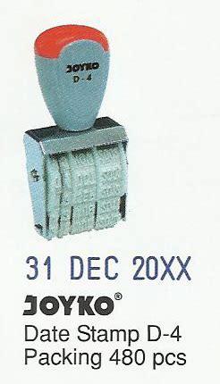 Stempel Joyko Tanggal D4 stempel tanggal joyko d 4
