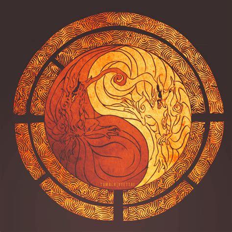 naruto yin yang kurama yin yang いえ