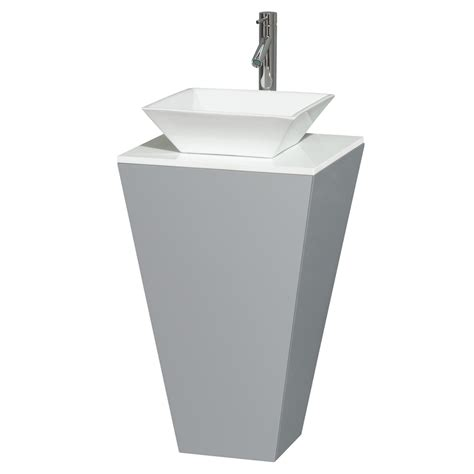 Bathroom Pedestal Sets Esprit Bathroom Pedestal Vanity Set By Wyndham Collection