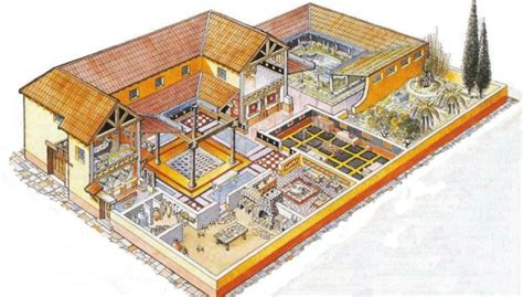 ancient roman house design intricate mosaic and underfloor heating among features for ancient roman houses in britain