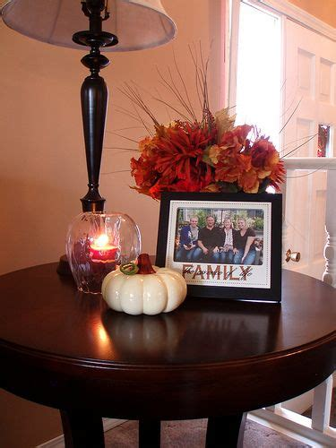 accent table decorating ideas 1000 ideas about fall living room on pinterest living