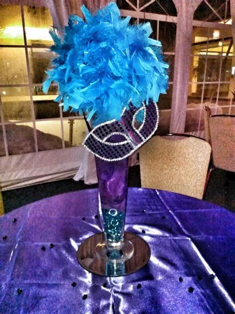 masquerade centerpieces for sweet 16 34 best images about masquerade on