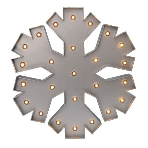 battery operated snowflake lights battery operated metallic led snowflake light
