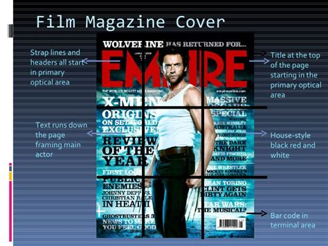 layout magazine maker layout of film posters and magazine covers