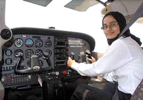 commercial woman pilot hyderabad s first ever female syeda fatima gets commercial