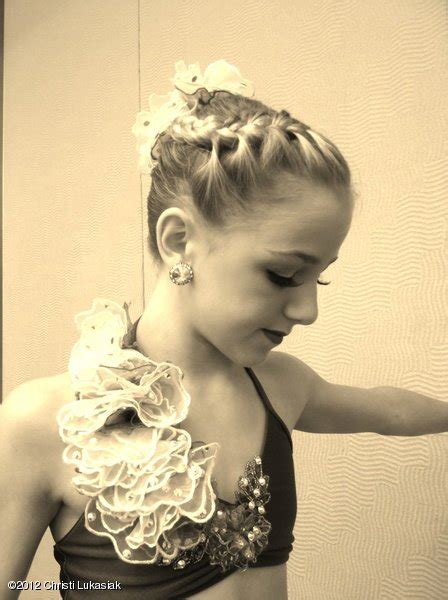 how to do the hairstyles on dance moms chloe lukasiak quotes quotesgram