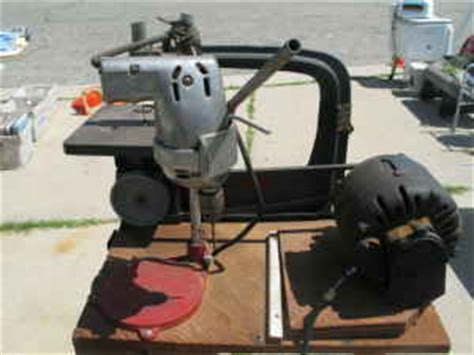 Craftsman 12 Quot Jig Saw Pulley Withelectric Motor And Hand