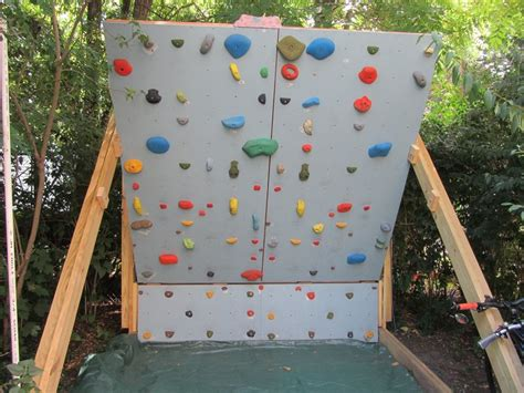 rock climbing wall for backyard rock climbing photo backyard wall what does your woody look like
