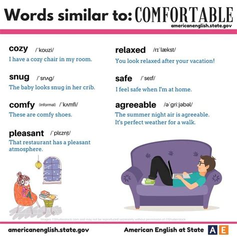 synonyms for comfortable 1000 images about esl vocab synonyms antonyms
