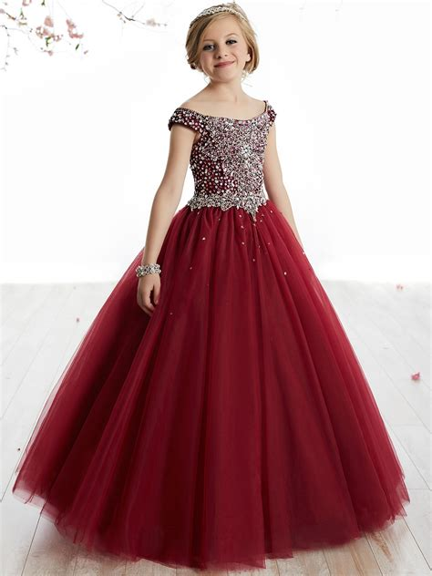 Pageant Dresses by Princess 13505 The Shoulder Gown Dress
