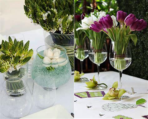 Ideen F R Tischdeko Hochzeit by Tischdeko Fr 252 Hling Tulpen Harzite
