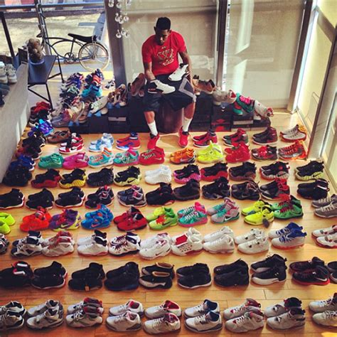 shoes collection joe haden shows his sneaker collection sneakernews
